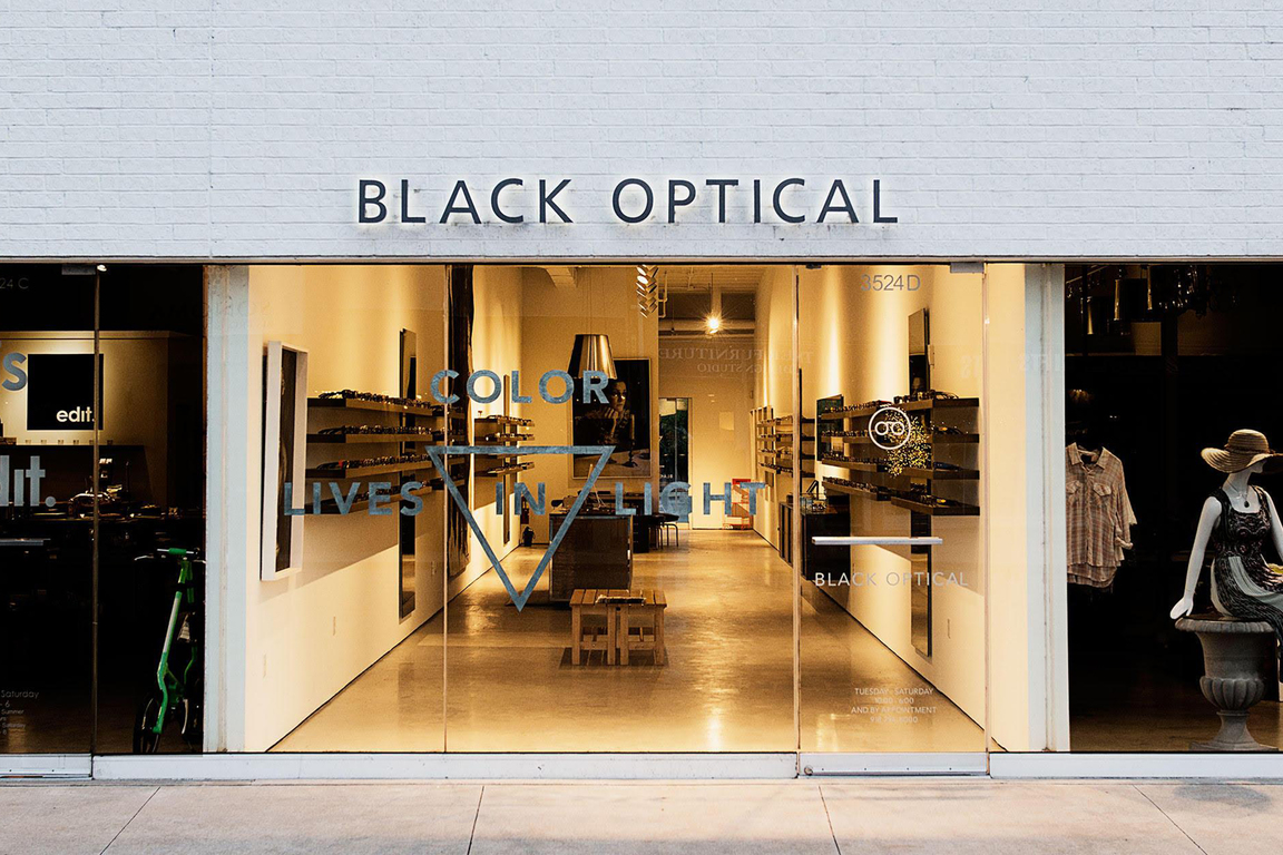 Black optical
